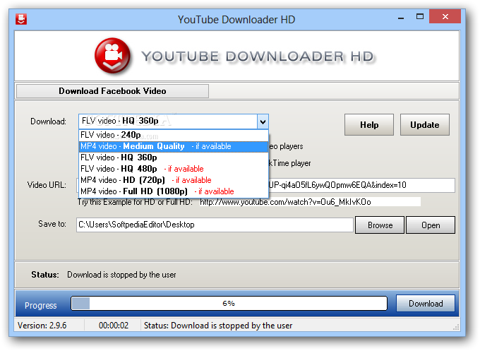 скачать youtube downloader hd